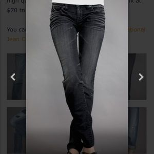 Big star nico dark blue/black skinny jeans 28 long